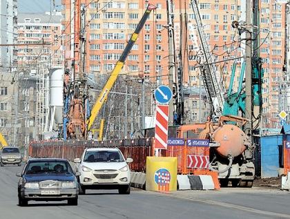 Реконструкция Большой Академической улицы в самом разгаре.  Фото Эдуарда Кудрявицкого Фото.