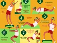 Гимнастика для женщин: 12 экспресс-упражнений