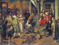 Суд Пугачёва: казнить так казнить, жаловать так жаловать! Картина Василия Перова «Суд Пугачева», 1875 год