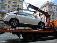 Задержание транспортного средства, запрещение его эксплуатации
