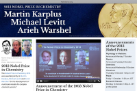 Лауреаты Нобелевской премии по химии.