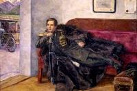 М. Ю. Лермонтов на картине П. Кончаловского.