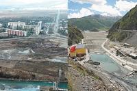Две ГЭС в горах - две бюджетные войны, два заложника.