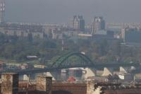 Белград в тумане.