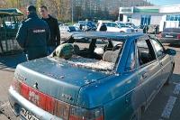 В ходе рейда на овощебазе был обнаружен автомобиль с оружием и несколькими миллионами рублей.