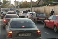 Пробки в Омске, к счастью, нескоро сравнятся с московскими.