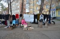 Стихийными рынками обрастает Омск.