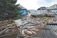 Слишком велика разрушительная сила стихии...