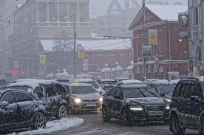 Синоптики обещают сегодня на Южном Урале мокрый снег