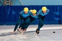 Е.Козулин (слева) на дистанции.