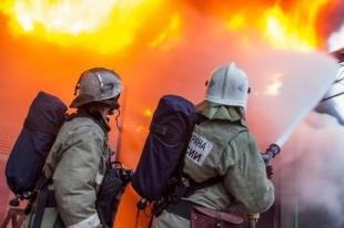 В Челябинской области в строительном вагончике сгорели два рабочих