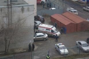 В здании Курганского мирового суда прогремел взрыв. Фото