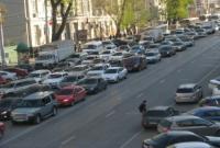 На проспекте Буденновском многокилометровый затор.