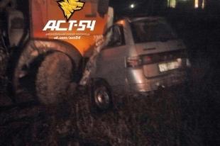 В Новосибирской области «Лада» столкнулась с «КАМАЗом» - погиб водитель