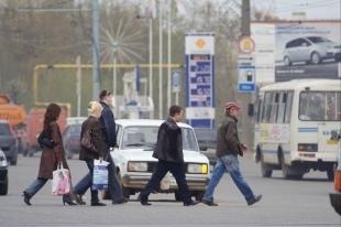 В Челябинске водитель автомобиля сбил пешехода