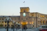 Здание Правительства Армении в Ереване.