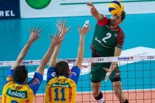 Волейбол: «Локомотив» на выезде уступил итальянской «Мачерате»