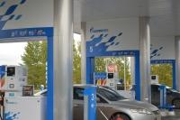 АЗС «Газпромнефть».