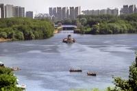 Москва-река в районе Капотни.