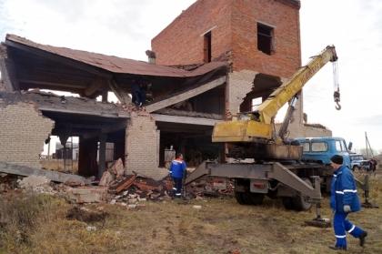 На Южном Урале 16-летний подросток спровоцировал обрушение здания