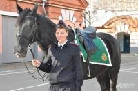 Девушка-кавалерист Виктория Минажетдинова.