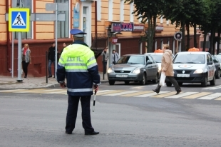 В Челябинской области сотрудник ГИБДД стал участником аварии