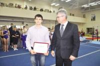 Сертификат на жильё для гимнаста Николая Куксенкова - стимул добиваться новых побед.
