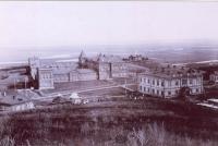 Вид Карамзинской колонии душевнобольных в начале XX века.