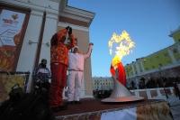 Норильск стал 49-м городом России, принявшим эстафету.