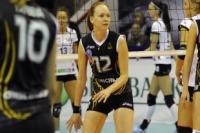 Волейболистка «Омичка» Марина Бабешина.