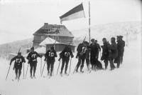 германская команда в соревнованиях военных патрулей на Олимпиаде 1932 года