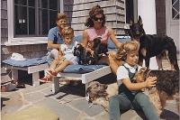 Семья Кеннеди 14 августа 1963 года.