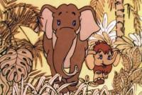 Кадр из мульфильма «Мама для мамонтенка»