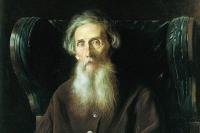 Владимир Иванович Даль. Портрет кисти В. Г. Перова. Фрагмент.