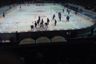 Хоккей: «Сибирь» проиграла «Витязю», имея преимущество в три шайбы