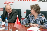 Горячая линия посвященная трудоустройству прошла в пресс-центре  «АиФ в Омске».