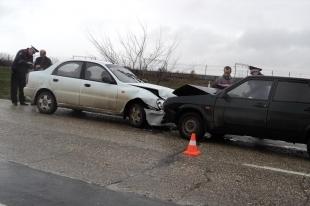 В Башкортостане произошло ДТП с участием полицейского