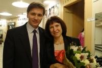 Максим Кухарский и Ольга Киселёва.