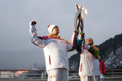 Челябинские факелоносцы пронесут Олимпийский огонь, сидя на верблюде