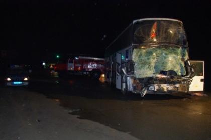 На Южном Урале заснувший водитель автобуса устроил смертельное ДТП. ФОТО