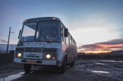 Жители поселка Старое Першино оказались в транспортной блокаде
