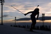 Российские биатлонисты пока остаются в тени.