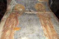 Фресковая роспись в Спасском соборе в Полоцке 1161 год.