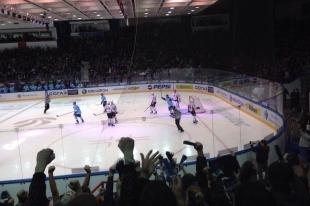 Хоккей: «Сибирь» уверенно обыграла минское «Динамо»