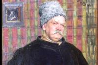 «Король репортёров», портрет работы С. Малютина. 1915 год.