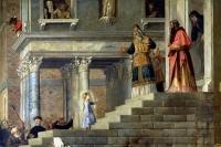 Введение во храм Пресвятой Богородицы (Тициан, 1534—1538).