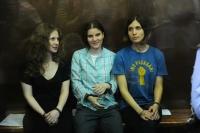 Участницы группы Pussy Riot.