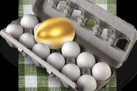 За месяц яйца подорожали на 30%.