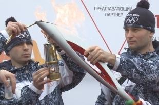Новосибирский зоопарк встретил эстафету олимпийского огня
