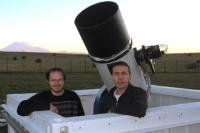Комету открыли Артем Новичонок и Виталий Невский.